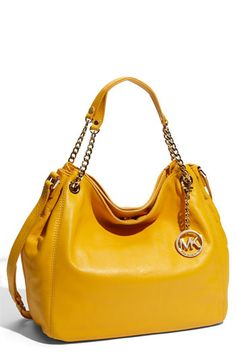 love love love this yellow MK bag!