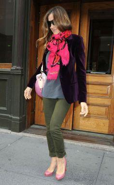 sarah jessica parker scarf | Photo courtesy: www.hollywoodlife.com