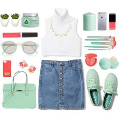 Brunch with the girls by cassie-paps on Polyvore featuring Keds, Kate Spade, Charlotte Russe, River Island, Becca, tarte, Eos, Fuji, H&M and follow