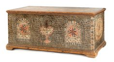 Pennsylvania, probably Dauphin County, painted blanket chest, ca. 1795