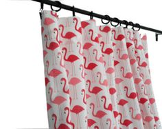 Urban Zoologie Flamingo Curtains - Custom Made - two panels