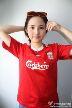 The Official LFC Weibo account recently ran a competition to find Miss LFC China. These are the Top 10 finalists Liverpool Girls, Liverpool Fans, Liverpool Football Club, Football Ticket, Football Girls, Barca Flag, Liverpool Fc Wallpaper, You'll Never Walk Alone, Premier League