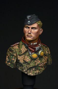 WSS Panzer Crew by JIN_KIM · Putty&Paint