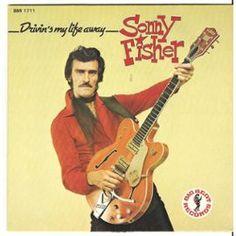 SP Sonny-Fisher drivin my life away Rockabilly Artists, Teddy Boys, Rock And Roll, Fisher, My Life, Blues, Beautiful Women, Album, Sun