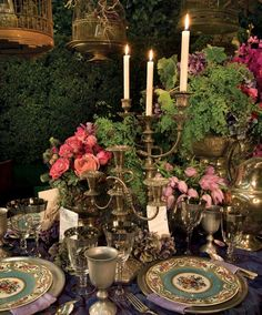 Garden, Home and Party: Romance at Home