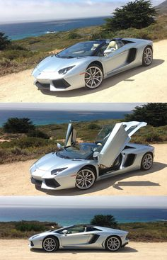 Watch This Aventador Roadster Versus It's Countach Grandpa! How far has #Lamborghini evolved in 30 years? Click on image to find out...
