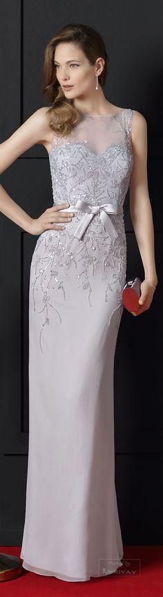 Rosa Clará ~ Spring Embellished Gown, Soft Lavender2015.