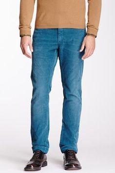 corduroy slim fit pants