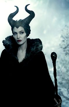Angelina Jolie as Maleficent Maleficent 2014, Angelina Jolie Maleficent, Maleficent Movie, Malificent, Maleficent Quotes, Maleficent Makeup, Maleficent Cosplay, Disney Art, Disney Movies