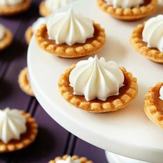 Take a look at the best fall wedding food in the photos below and get ideas for your wedding! Fill pumpkin with your favorite vege dip then YUM! Image source Fall Wedding food ideas, Mini Pumpkin Pies for autumn… Continue Reading → Mini Desserts, Fall Desserts, Just Desserts, Dessert Recipes, Plated Desserts, Candy Recipes, Mini Pumpkin Pies, Mini Pies, Pumpkin Spice