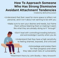 Relationship Psychology, Relationship Therapy, Psychology Facts, Relationships, Mental And Emotional Health, Emotional Stress, Mental Health Matters, Avoidant Personality, Attachment Theory
