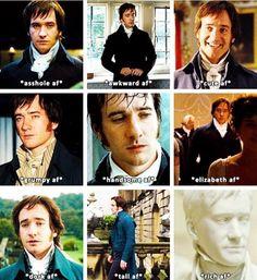Darcy af**