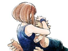 Boku no Hero Academia • Ochaco Uraraka x Katsuki Bakugou