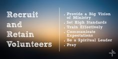 Recruiting Volunteers for Children's Ministry