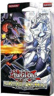 Yu-Gi-Oh Sealed Decks and Kits 183452: Yugioh Structure Deck Dragons Collide Sddc Sealed New -> BUY IT NOW ONLY: $52.89 on eBay!