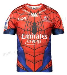 uusoccer provides cheap and quality Hero Version Lion Red & Blue Thailand Rugby Shirt with the information of price, image, size, style and others, easy for you to buy! Rugby League, Athletic Wear, Lions, Red And Blue, Irish, Thailand, Hero, Mens Tops, T Shirt