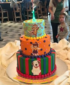 HooplaKidz children's cake sent in from our fan, Theresa Bratton! #HooplaKidz #HooplaKidzCake