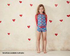 Little Girls Swimwear - Long Sleeve with Boy Leg - ALDI Australia