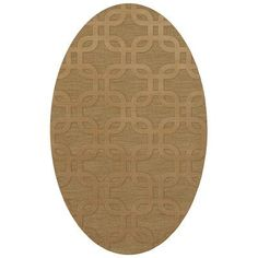 Dalyn Rug Co. Dover Wheat Area Rug Rug Size: Oval 10' x 14'