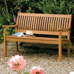 billyoh signature preston 3 seater wooden garden bench. Black Bedroom Furniture Sets. Home Design Ideas