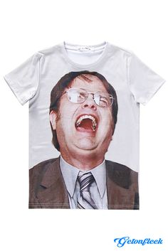 Dwight Schrute Tee - Shop the largest all over print clothing store today! www.getonfleek.com