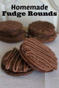 Homemade Fudge Rounds - Joyful Momma's Kitchen