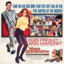 Viva Las Vegas is a 1964 American musical film starring Elvis Presley and actress Ann-Margret. The film is regarded by fans and by film critics as one of Presley's best movies, and it is noted for the on-screen chemistry between Presley and Ann-Margret. Old Movies, Vintage Movies, Great Movies, Vintage Posters, Elvis Presley Images, Elvis Presley Movies, Ann Margret, Elvis Sings, Musical Film