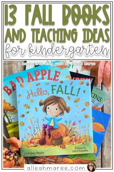 These cozy fall books for kids are perfect to read to kindergarten or preschool students to teach a variety of literacy skills! Click through to check out this unique list of amazing books. Kindergarten Activities, Classroom Activities, Learning Activities, Teaching Ideas, Classroom Ideas, Fall Facts, Fun Fall Activities, Fallen Book, Literacy Skills