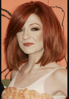 Incredible colour and volume Nicola Roberts, Girls Aloud, Pretty Face, Pretty Hairstyles, Pretty People, Hair And Nails, Redheads, Red Hair, Hair Cuts