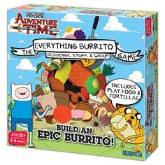 """Adventure Time EVERYTHING BURRITO GAME - Briarpatch - Toys """"R"""" Us"""