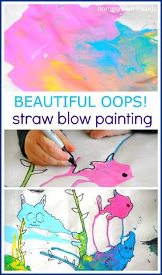Beautiful+Oops+Straw+Blow+Painting