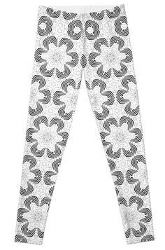 Leggings by dahleea Artwork Prints, Knitted Fabric, 2d, Pajama Pants, Leggings, Knitting, Stuff To Buy, Sleep Pants, Tricot