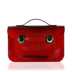 Red Satchel   Stella Rittwagen Red Bags, Cambridge Satchel, My Love