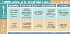 Instituto de Saúde Mental recebe semana de arte e cultura - http://noticiasembrasilia.com.br/noticias-distrito-federal-cidade-brasilia/2015/04/09/instituto-de-saude-mental-recebe-semana-de-arte-e-cultura/