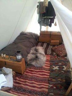 Woodsmen Tent Interior More