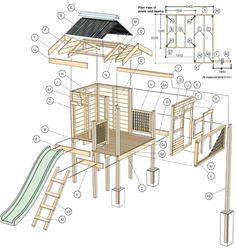 bouwtekening speeltoestel