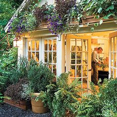 10 Tips for a Beautiful Yard | 8. Hide Outdoor Structures | SouthernLiving.com