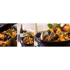 Mussels with Chorizo and Red pepper Pesto with Protea Reserve Red Pepper Pesto Recipe, Mussels, Red Peppers, Chorizo, Wines, Beef, Stuffed Peppers, Vegetables, Recipes