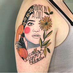 Likes, 49 Comments - Wife Dad Tattoos, Tattoo You, Secret Tattoo, Monsters Ink, Spooky Tattoos, Body Mods, Beautiful Tattoos, One Color, Tattoo Inspiration