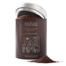 Enjoy a mug of the best Belgian chocolate in a powdered hot cocoa imported directly from Belgium