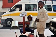 """Tarika Mainty""a band created by kids playing drums and dancing in the streets of the Capital City"