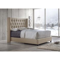 You'll love the Baxton Studio Upholstered Platform Bed at Wayfair - Great Deals on all Furniture products with Free Shipping on most stuff, even the big stuff.
