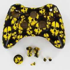 SAVE $20 - #YELLOW Call of Duty Ghost Xbox 360 Wireless Controller Shell Housing (d-pad, Triggers) $29.99