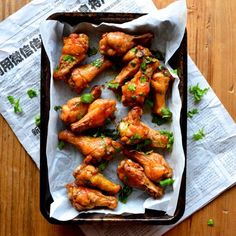 Thai Red Curry Lime Wings by thewoksoflife.com
