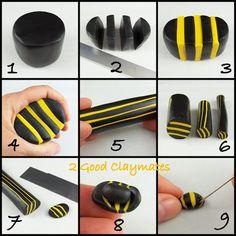 2 Good Claymates: Bumblebee Tutorial