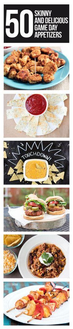 50 healthy Super Bowl appetizer recipes!