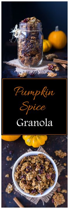 This Pumpkin Spice Granola makes your whole house smell incredibleas it bakes in the oven. It's packed with pumpkin flavor and it's vegan, gluten-free and refined sugar-free. I know I warned you guys that I had more pumpkin recipes coming but honestly, this granola evenwasn't part of the plan. You see, I have another pumpkin …