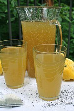 All Natural Green Tea Lemonade (Starbucks copycat recipe) | Liv Lives Life