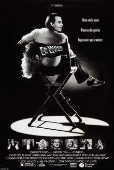 TB034. Ed Wood / Ed Wood / Movie Poster (1994) / #Movieposter / #Timburton