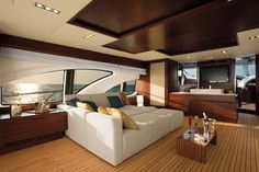 Azimut 100 Leonardo Yacht ~ Salon